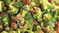 There are foods that I love and there are foods that I crave. Broccoli and Bacon Salad certainly fits the crave category. I even had a good friend become slighly […]