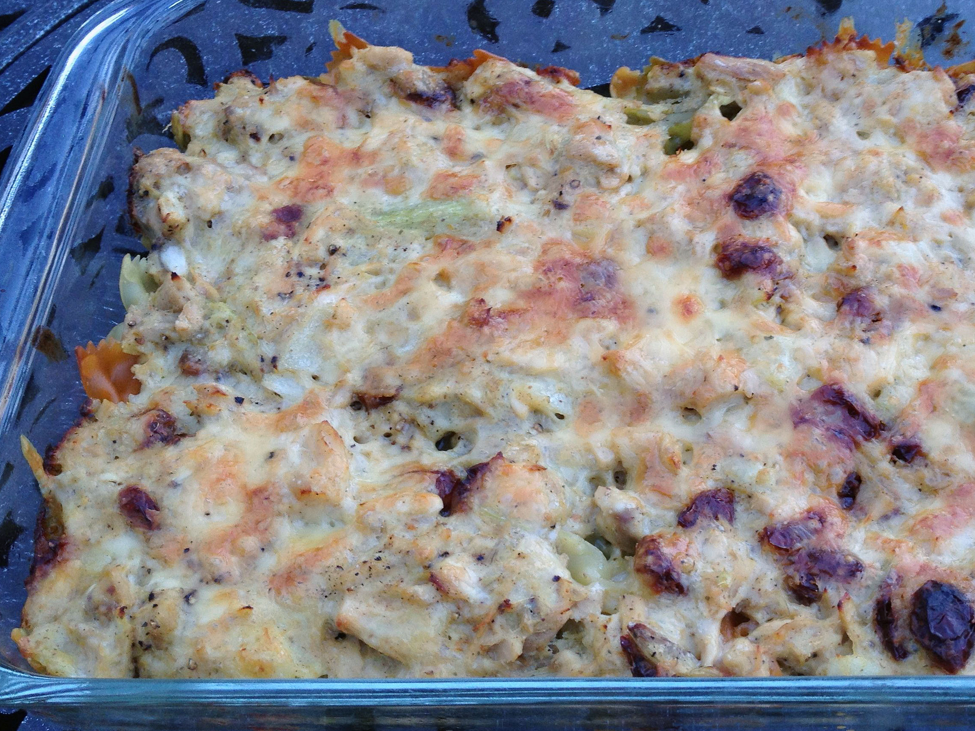 This is a whole-new, grown-up tuna noodle casserole for me. I've have a long-standing favorite recipe from an ancient Betty Crocker cookbook. It has the celery and the onion and […]