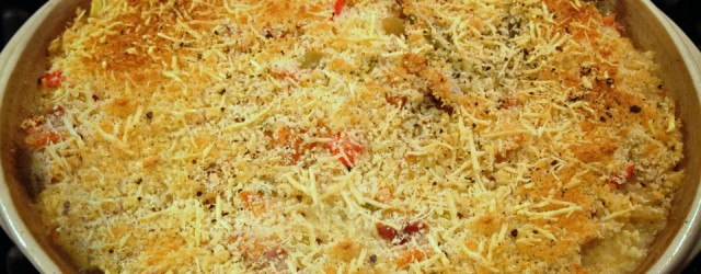 After guilting my brother into giving up some Smoked Salmon on Christmas Eve, I knew I'd better put my prize to good use. This pasta casserole is fabulous. I love...