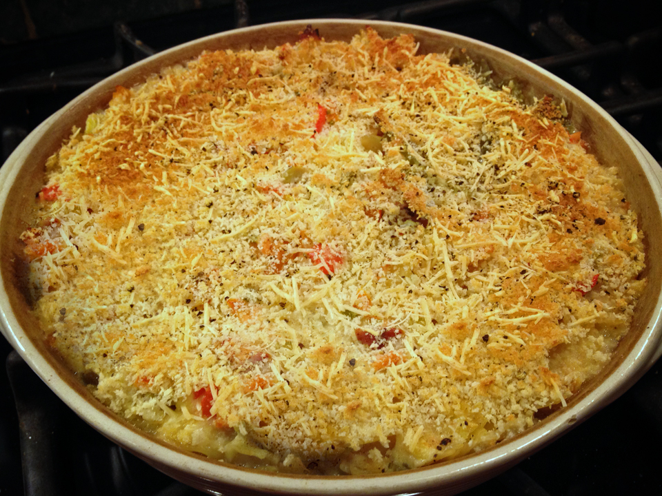 After guilting my brother into giving up some Smoked Salmon on Christmas Eve, I knew I'd better put my prize to good use. This pasta casserole is fabulous. I love […]