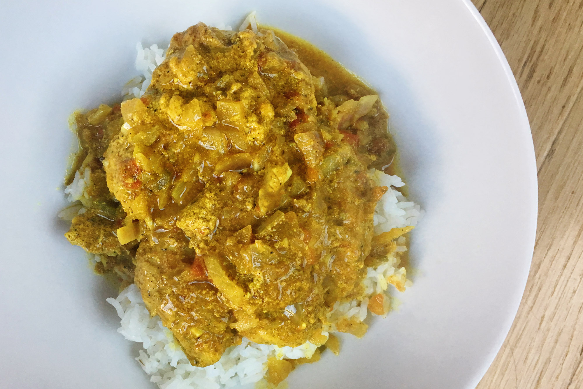 curry, Indian butter, chicken recipe